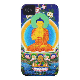 Cooles orientalisches tibetanisches thangka iPhone 4 Case-Mate hüllen