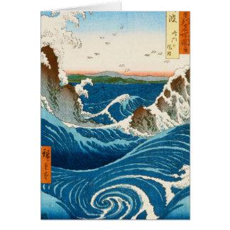 Cooles orientalisches traditionelles japanisches karte