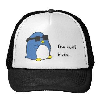 Cooles Penguino Retrokultkappe