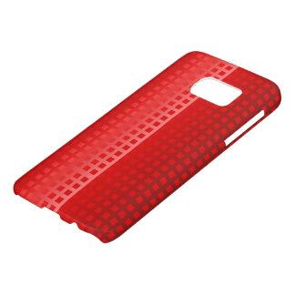 Cooles rote Quadrat-Muster
