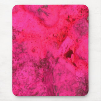 Cooles rotes Rosa Mousepad