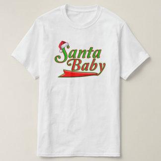 Cooles Sankt-Baby-einzigartiger grüner roter T-Shirt