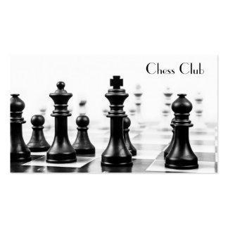 Cooles Schach-Brett bessert Fotografie - Visitenkarten