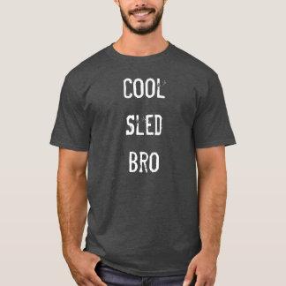 """""""Cooles Schlitten Bro"""" Holzkohlen-Sledders.com-T - T-Shirt"""