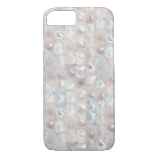 Cooles schönes aus Perlmutt elegantes Muster iPhone 7 Hülle