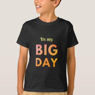 Cooles sein ein großes Tagesgeburtstagst-stück T-Shirt