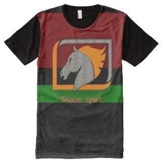#Cooles Shirt für Skater/ bunt