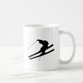 Cooles Skifahren Kaffeetasse