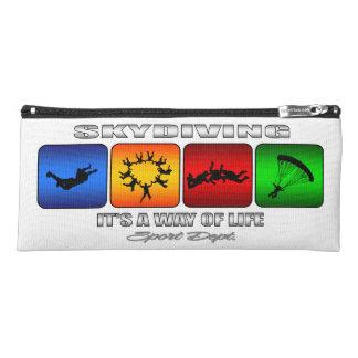 Cooles Skydiving ist es eine Lebensart Stiftetasche