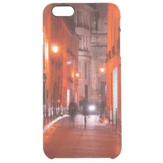 Cooles, städtisches, modernes Foto des Pariser Durchsichtige iPhone 6 Plus Hülle