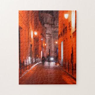 Cooles, städtisches, modernes Foto des Pariser Puzzle