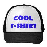 cooles T - Shirtblau Retrokappe