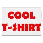 cooles T - Shirtrot Karte