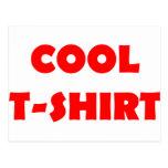 cooles T - Shirtrot Postkarten