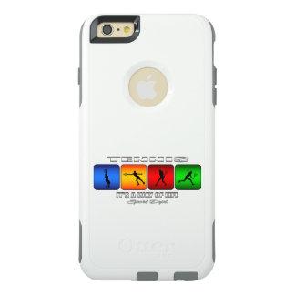 Cooles Tennis ist es eine Lebensart (weiblich) OtterBox iPhone 6/6s Plus Hülle