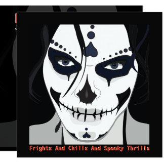 Cooles trendy modernes Halloween cinco De Mayo Karte