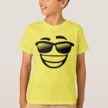 Cooles Typ emoji T-Shirt