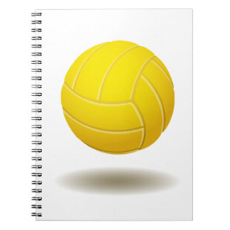 Cooles Volleyball-Emblem-Notizbuch #2 Notizblock