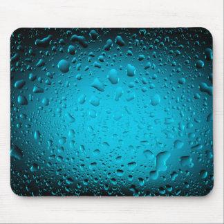 Cooles Wasser lässt blaue Mausunterlage fallen Mousepads