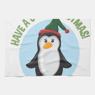 Cooles Weihnachten Handtuch