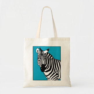 Cooles Zebra-Tier Tragetasche