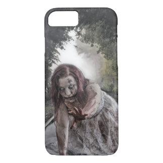 Cooles Zombie-Mädchen iPhone 8/7 Hülle