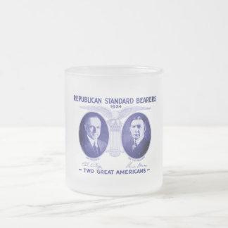 Coolidge-Dawes Kaffee-Tasse Matte Glastasse