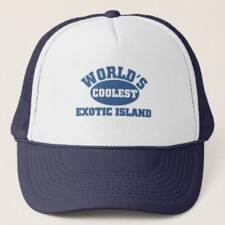 Coolste exotische Insel Truckerkappe