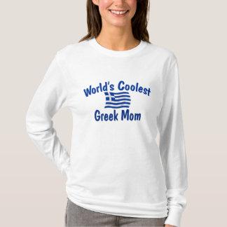 Coolste griechische Mamma T-Shirt