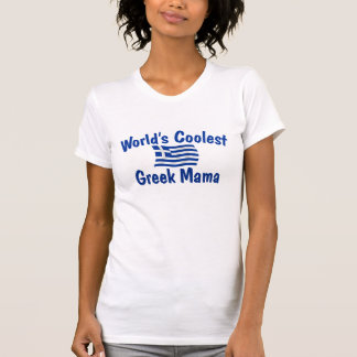 Coolste griechische Mutter T-Shirt