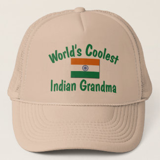Coolste indische Großmutter Truckerkappe