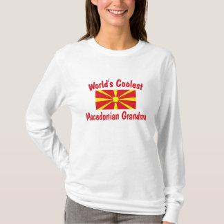 Coolste mazedonische Großmutter T-Shirt
