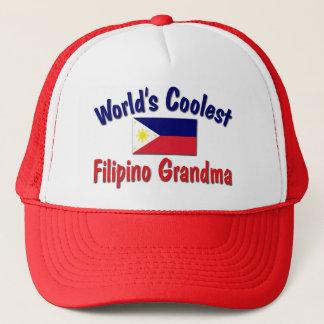 Coolste philippinische Großmutter Truckerkappe