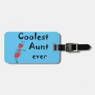 Coolste Tante Ever Art Gepäckanhänger