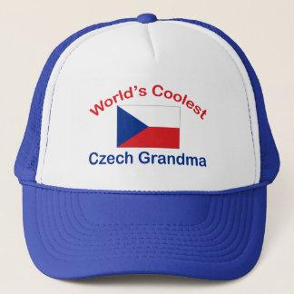 Coolste tschechische Großmutter Truckerkappe