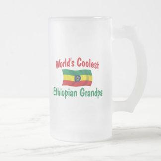 Coolster äthiopischer Großvater Mattglas Bierglas