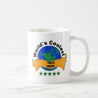 Coolster der LKW-Fahrer der Welt Kaffeetasse