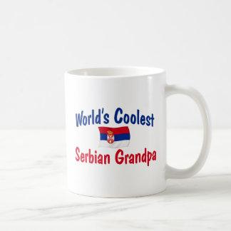 Coolster der Serbian-Großvater der Welt Kaffeetasse