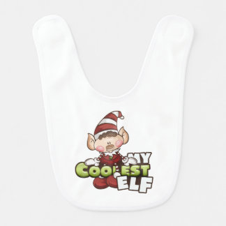 """""""Coolster Elf"""" des Elf-Babys Baby-Schellfisch Babylätzchen"""