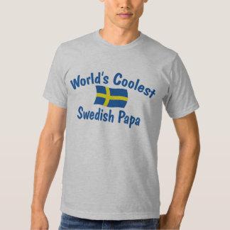 Coolster schwedischer Papa T Shirt