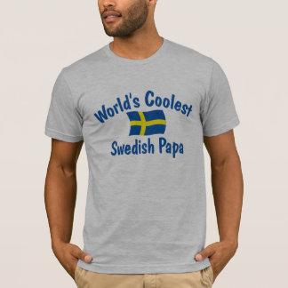 Coolster schwedischer Papa T-Shirt