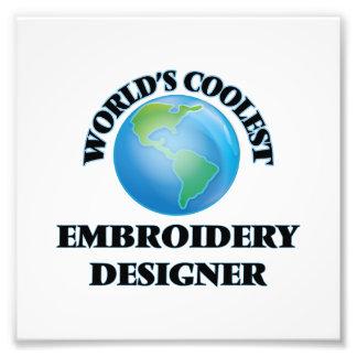 COOLSTER Stickereidesigner der Welten Photographischer Druck