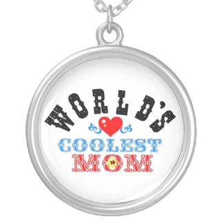 coolstes die Mamma-Silber Necklace♥╬ღ der Versilberte Kette