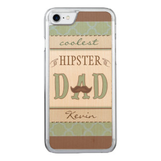 Coolstes Hipster-Vati-Vater iPhone Carved iPhone 8/7 Hülle