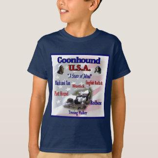 Coonhound USA-Geschenke T-Shirt