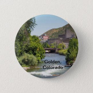 Coors Brauerei in Goldenem, Colorado Runder Button 5,1 Cm