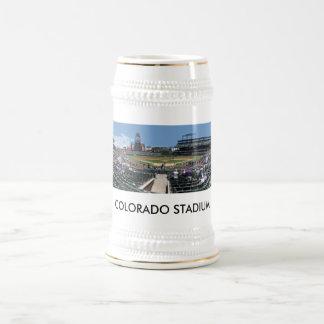 Coors Feld Pan, COLORADO-STADION Bierglas