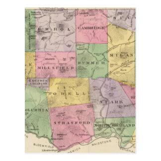 Coos County, NH Postkarte