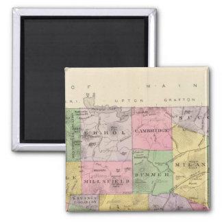 Coos County, NH Quadratischer Magnet