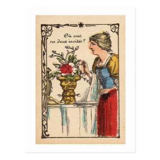 Copa de Rubin II/Rubin´s Vase II Postkarte